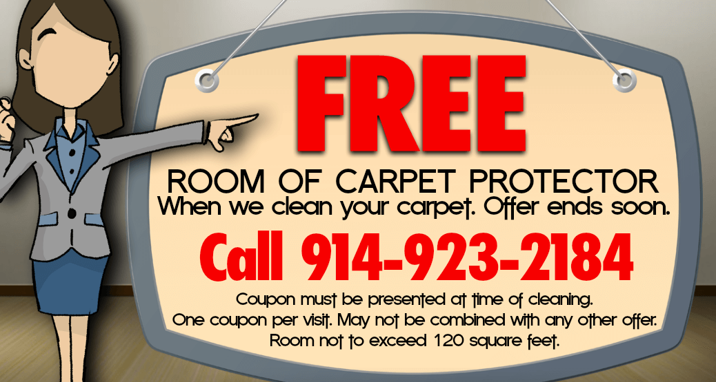 Westchester NY Carpet Cleaning with Free Carpet Protector